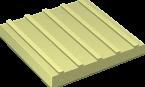 Тротуарная плитка Продольный Риф
