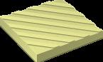 Тротуарная плитка Диагональный Риф