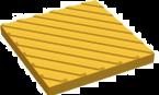 Плитка тактильная Диагональный Риф